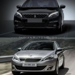 2017 Peugeot 308 vs. 2013 Peugeot 308 exterior
