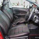 2017 Proton Iriz front seats