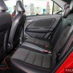 2017 Proton Iriz rear seats