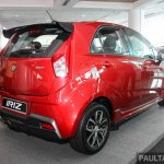 2017 Proton Iriz rear three quarters