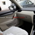 2017 Skoda Octavia (facelift) interior spy shot