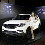 2017 SsangYong Rexton front three quarters