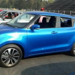2017 Suzuki Swift blue front three quarters