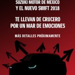 2017 Suzuki Swift teaser Mexico