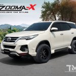 2017 Toyota Fortuner with Vazooma-X body kit front three quarters