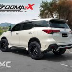 2017 Toyota Fortuner with Vazooma-X body kit rear three quarters