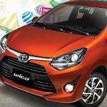 2017 Toyota Wigo (facelift) front three quarter Philippines