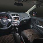 2017 Toyota Wigo (facelift) interior Philippines