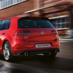 2017 VW Golf MkVII (facelift) GTI rear launched in South Africa