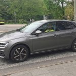 2017 VW Polo exterior undisguised spy shot