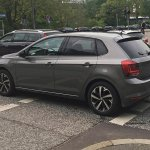 2017 VW Polo undisguised spy shot
