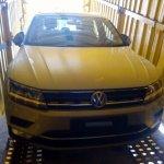 2017 VW Tiguan en route to Indian dealership