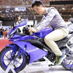 2017 Yamaha R15 v3.0 at Vietnam Motorcycle Show side