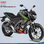 2017 Yamaha V-Ixion R Tech3 colours rendering