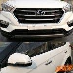 2018 Hyundai Creta (2018 Hyundai ix25) exterior spy shot