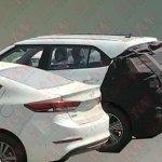2018 Hyundai ix25 (2018 Hyundai Creta) facelift front fascia spy shot (3)