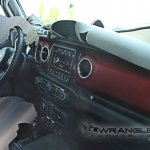 2018 Jeep Wrangler interior spy shot second image