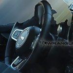 2018 Jeep Wrangler steering wheel spy shot