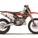 2018 KTM 250 EXC TPI studio side