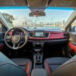 2018 Kia Rio Sedan interior dashboard