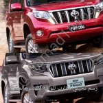 2018 Toyota Land Cruiser Prado (facelift) front quarter leaked