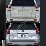 2018 Toyota Land Cruiser Prado (facelift) rear leaked