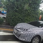 ASEAN-spec Toyota Yaris (facelift) front end spotted testing