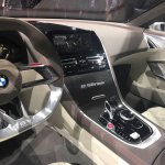 BMW 8 Series Concept center console revealed