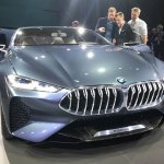 BMW 8 Series Concept front revealed
