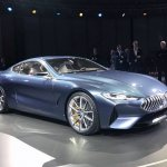 BMW 8 Series Concept front three quarter revealed