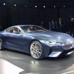 BMW 8 Series Concept front three quarter revealed