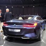 BMW 8 Series Concept rear quarter revealed