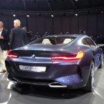 BMW 8 Series Concept rear quarter revealed