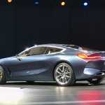 BMW 8 Series Concept rear three quarter revealed