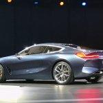 BMW 8 Series Concept rear three quarter revealed