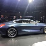 BMW 8 Series Concept side revealed