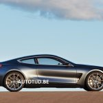 BMW 8 Series concept profile leaked image