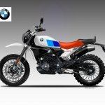 BMW G310GS rendered as BMW G310GS Classic Concept