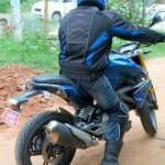 BMW G310R spyshot India rear three qaurter