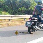 Bajaj V15 rear spyshot Malaysia