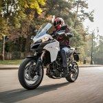Ducati Multistrada 950 motion white front three quarter