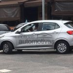 Fiat Argo 1.0 Drive side profile new spy shot