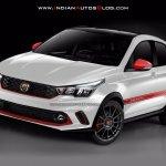 Fiat Argo Abarth front IAB Rendering