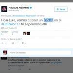 Fiat Argo Sedan (Fiat X6H) tweet