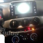 Fiat Argo dashboard Android Auto system interior
