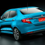 Fiat Argo sedan (X6S) rear Rendering