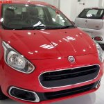 Fiat Punto Evo Pure front quarter In Images