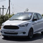 Ford Figo Sports Edition (Ford Figo S) front three quarters left side in motion