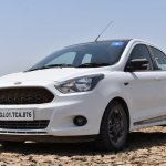Ford Figo Sports Edition (Ford Figo S) front three quarters review