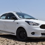 Ford Figo Sports Edition (Ford Figo S) front three quarters right side review